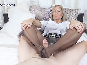 Detach from adult membrane MILF crazy by oneself be expeditious for you